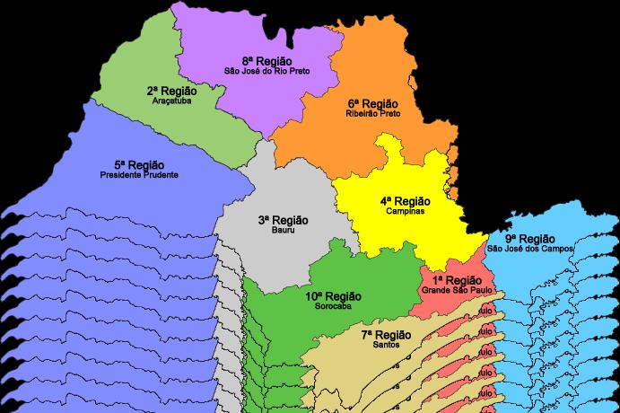 São Paulo Regiões