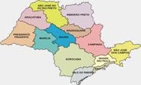Mapa da Região Metropolitana