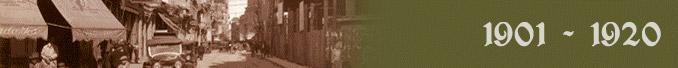 Período de 1901 a 1920