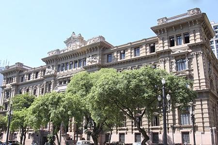 Foto do Palácio da Justiça