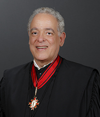 Foto do Presidente do Tribunal de Justiça Desembargador Manoel de Queiroz Pereira Calças
